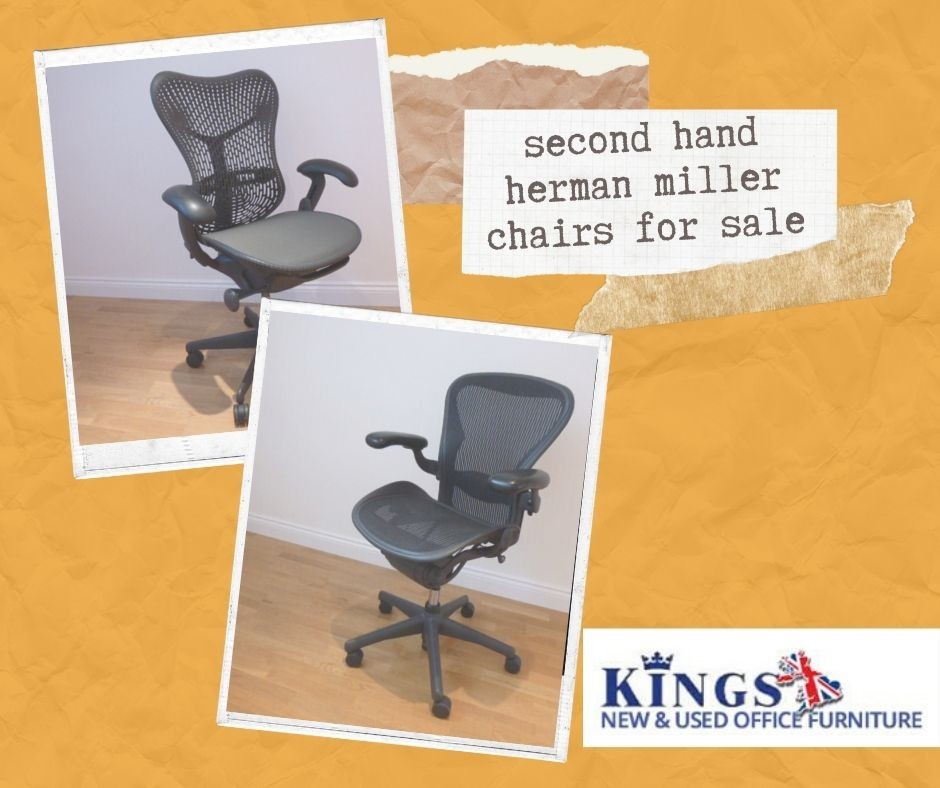 Shop Second Hand Herman Miller Chairs for Office