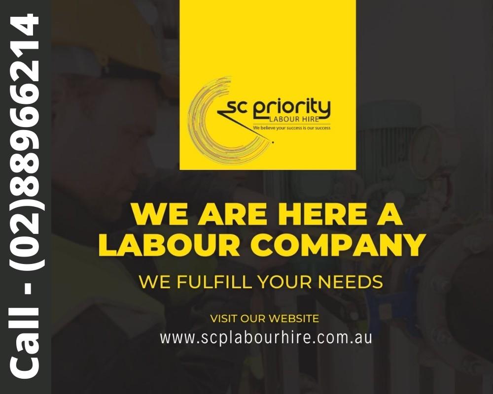 Labour Hire Company in Sydney - SC Priority Australia