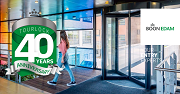 Boon Edam's Tourlock Security Door Reaches 40th Anniversary as Proven Tailgating Prevention Solution