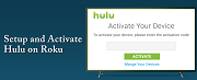 Activation Steps of HULU on Roku Streaming Device