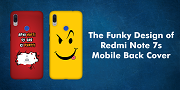 The Funky Design of Redmi Note 7s Mobile Back Cover