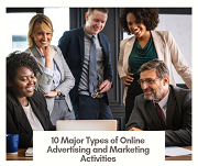 10 Major Types of Online Advertising and Marketing Activities