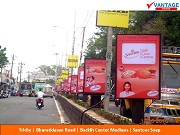 Vantage Outdoor Bus Shelters and Center Medians at Trichy