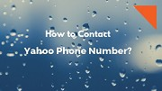 How Do I Contact Yahoo mail Customer Support Phone Number?