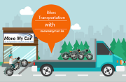 Why hiring a suitable Bike transport services in Noida is a better choice than self driving?