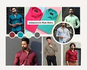 Plain and Formal Shirts Outfit for Men Online at Low Prices