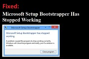 How to Fix MS Office 2016 Bootstrapper error