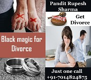 Benefit to take the help of black magic to get divorce