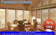 Commercial and office Plantation shutters