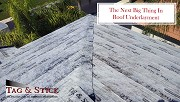 The Next Big Thing In Roof Underlayment