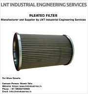 Pleated Media Filters Manufacturer and Supplier by LNT Industrial Engineering Services