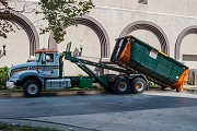 Thoroughly clean up anything working with a dumpster rental solutions