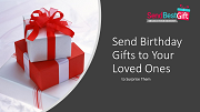 Send Birthday Gifts to India with Express delivery options