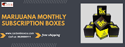 Stunning look marijuana monthly subscription boxes are helpful for grabbing the market