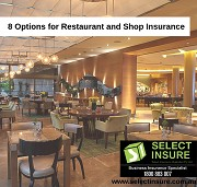 Read 8 Options for Restaurant and Shop Insurance