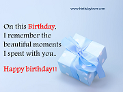 Happy Birthday Wishes & Messages - Birthday Lover