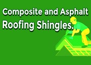 Striking Difference Between Composite and Asphalt Roofing Shingles
