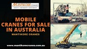 How to get best deals with mobile cranes for sale in Australia?