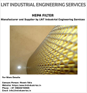 HEPA Filters Manufacturer and Supplier by LNT Industrial Engineering Services