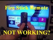 fire stick remote not working 2018