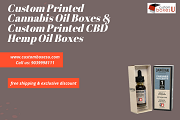 Buy Custom Cannabis Oil Boxes & CBD oil packaging with 20% disscount in USA
