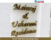 Indoor and Outdoor 3D Signage Letters - Masterpieces