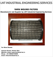 Yarn Wound Filters Manufacturer and Supplier by LNT Industrial Engineering Services