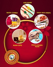 Send Rakhi Gifts to India, USA, UK & Canada With Free Shipping