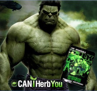 Hulk Herbal Incense for Smoking the Best Potpourri