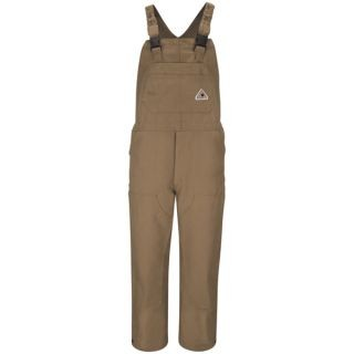 Coveralls Wholesale - Brown Duck Unlined Bib Overall