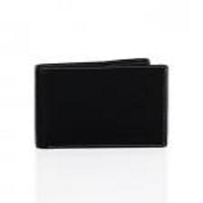 Allen Solly Men Leather Black Wallet