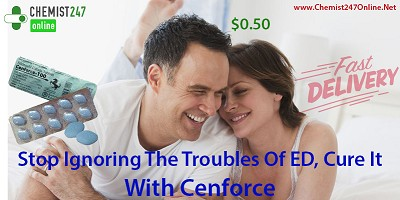 Manage Impotence Trouble In Man With Cenforce