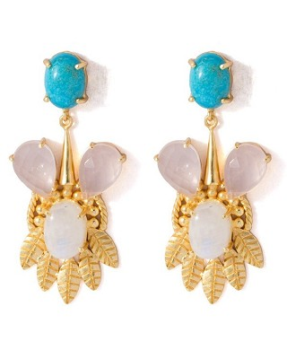 Classy And Chunky Pair Of Dangler Earrings