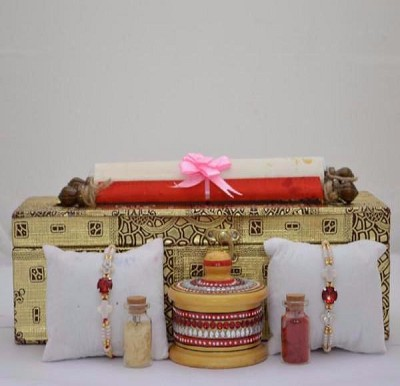 Raksha Bandhan - Rakhi Box Combo For Brother