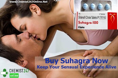 Romp Up Your Lovemaking With Suhagra ? Sildenafil Citrate