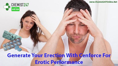 With Cenforce Attain Hard Erection During Intimacy
