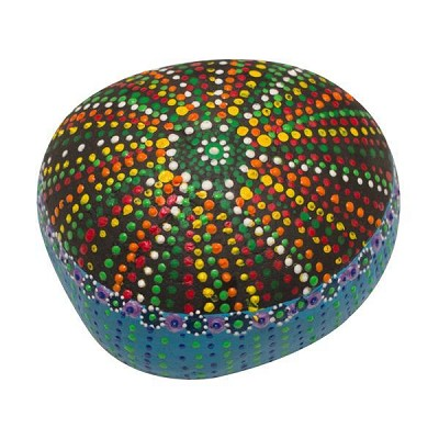Colourful Dots Stone Art