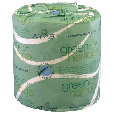 #250 Green Heritage Toilet Tissue