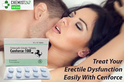 Get The Treatment For Erectile Dysfunction With Cenforce