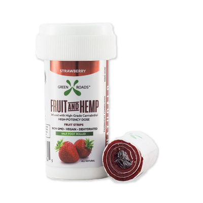 Delicious Strawberry Flavored Fruit And Hemp