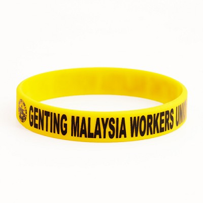 Genting Malaysia Workers Union Wristbands