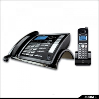 2-Line Expandable Desk Phone/Handset Combo