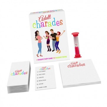 Adult Hens Party Charades - 80 Charade cards Available at Just $22.95