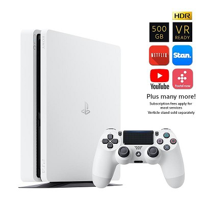 PS4 PlayStation 4 500GB Console Glacier White {212911}