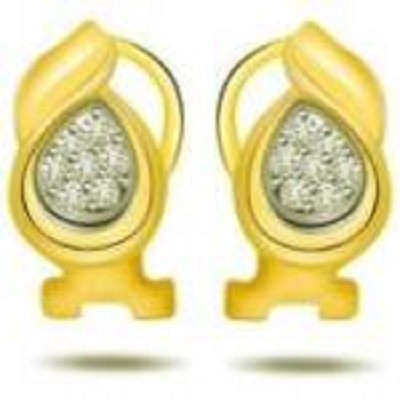Diamond 18kt Gold Earring