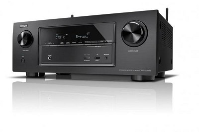 DENON AVRX1300WBKE2 7.2-CHANNEL AV RECEIVER ( 5 PLUS 1 HDMI 3D, 4K, HDCP 2.2, 7X 145 WATT) BLACK 220 VOLTS NOT FOR USA