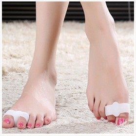 Ultra-soft Silicone Toe - Spacers 1 Pair