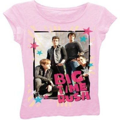 Nickelodeon Girl s Big Time Rush T-Shirt