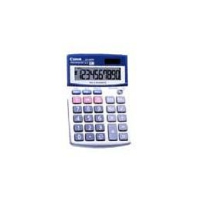 Canon : LS100TS Compact Desktop Calculator, 10-Digit LCD