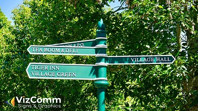 GetEasy To Understand Wayfinding/Directional Signs by VizComm
